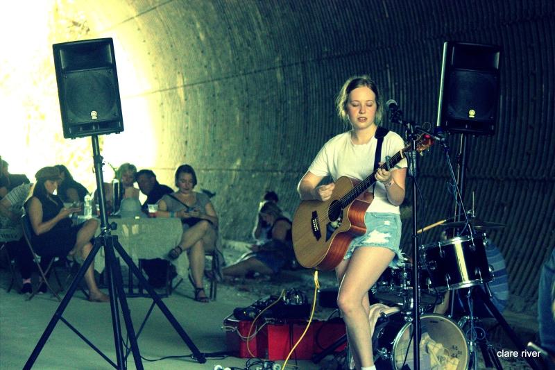 Tina Bartle in the Underground
