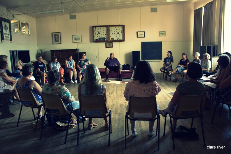 singing workshop with Kutcha Edwards